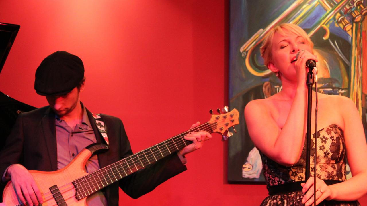 Mae and Ty Performing at Dizzy's Jazz Club Melbourne